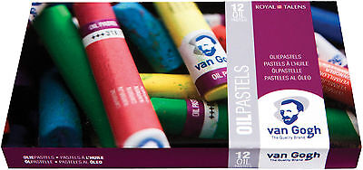 Royal Talens Van Gogh Oil Pastels (Set12, Set24)
