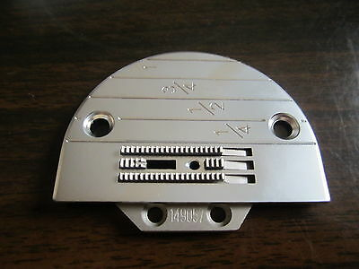 E20 Needle Plate, FEED DOG #149057 Universal FIT Industrial Sewing Machines JUKI