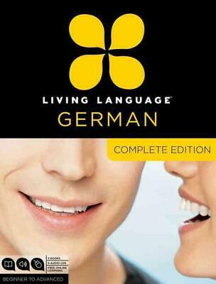 Living Language German, Complete Edition: Beginner to Advanced [With Book(s)] by