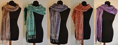 Aztec Scarf Shawl Indian Colourful unique scarves rayon beach pashmina