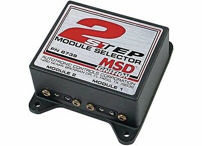 MSD Ignition 8739 Two Step Module Selector Start Line Control NHRA IHRA