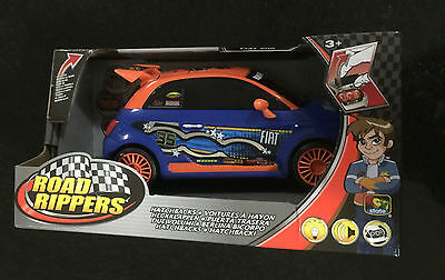 Hatchback Fiat Toystate Road Rippers Car Race Track Light Sound Ages 5+ Toy Boys
