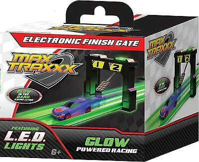 Max Traxxx Tracer Racers Electronic Finish Gate Car Race Light Ages 6+ New Toy