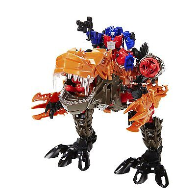 Transformers Robot T-Rex Grimlock Optimus Prime Dinosaur Ages 6+ New Toy Play