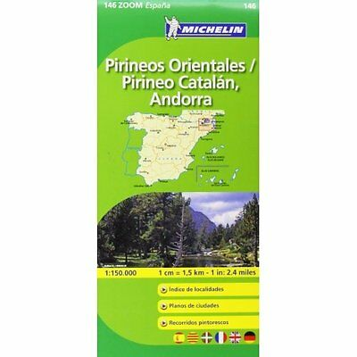 Pirineos Orientales Michelin Editions des Voyages Sheet map, fold. 9782067140653
