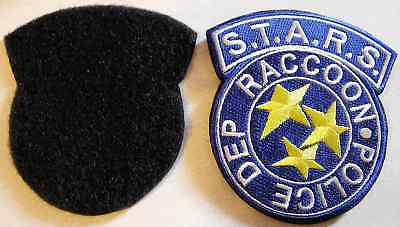Resident Evil Stars Raccoon Police Ecusson + scratch Resident evil patch
