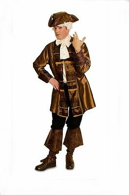 Pirate Frock-coat Baroque Rococo Costume Pirate fancy dress 2 piece NEW