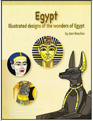 Egypt Pattern Book - Stained Glass