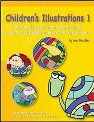 Children's Illustrations Pattern Book - Stained Glass