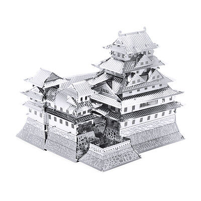 Himeji Castle 3D-Metall-Bausatz Silver-Edition Metal Earth 1055