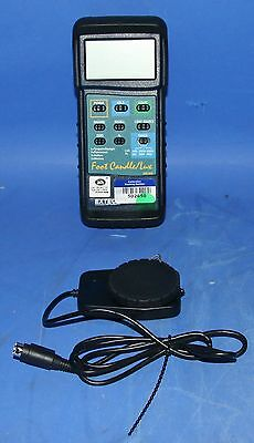 (1) Used Extech 407026 Heavy Duty Light Meter With PC Interface