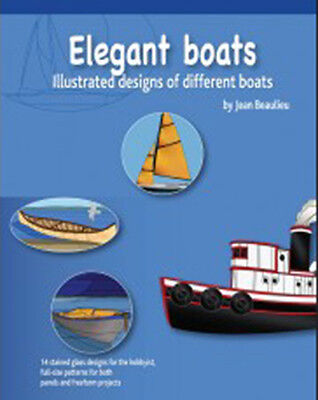 Elegant Boats Pattern Book - Stained Glass
