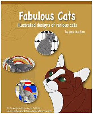 Fabulous Cats Pattern Book - Stained Glass