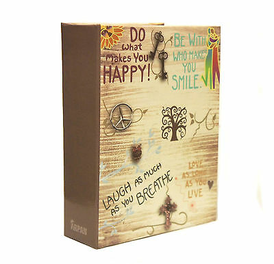 Arpan inspirational Slogans Slip In Photo Album for 100 Photos 6x4'' AL-9564