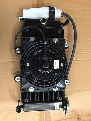Radiator includes fan And Overflow Suit ATV Motorbikes Buggy  china