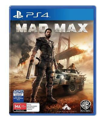 Mad Max Playstation 4 PS4 Playstation 4 Game BRAND NEW In Stock From Brisbane
