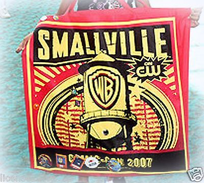 Superman & Smallville Comic Con 2007 Reusable Bag! Attendee's Only! Huge!