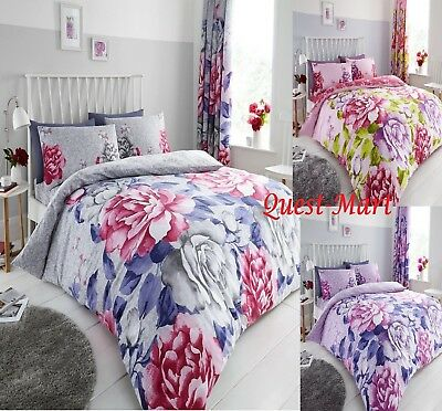 "PRISM Print PolyCotton Duvet Cover+Pillowcase Bedding Set Or Curtains(66"" x 72"")"