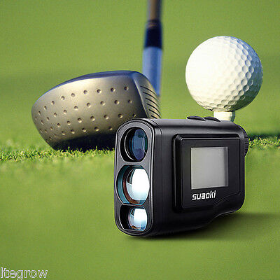 Suaoki 600m GOLF Laser Rangefinder Handheld with external LCD for Hunting
