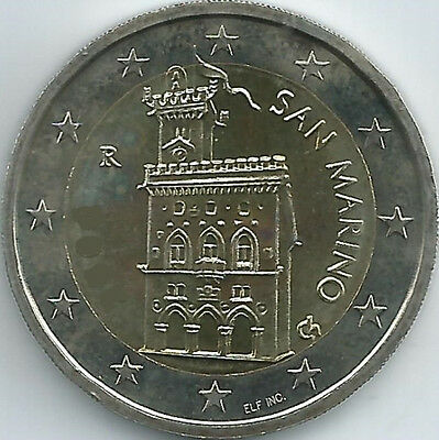 San Marino Currency coin (2002 - 2016), uncirculated/brilliant uncirculated