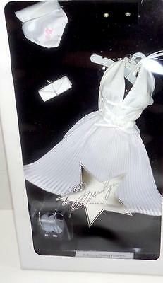 """Franklin Mint Marilyn Monroe Seven Year Itch White 16"""" Doll Outfit Ensemble NRFB"""