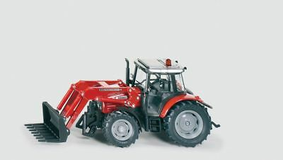 Siku Massey Ferguson Tractor with Front Loader - 1:32 Scale - Toy Vehicle
