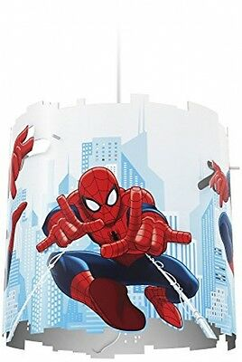 Marvel Spider Man Children's Ceiling Pendant Lightshade Philips NEW - FREE