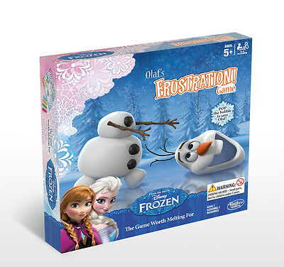 Olaf's Frozen Frustration Game From The Movie Frozen! Hasbro B1689 Brand New!