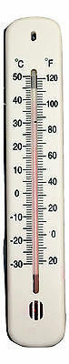 Indoor Outdoor Wall Room Office Home Garage Laboratory Thermometer Temperature