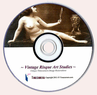 PRINT & SELL HIGH RES. RISQUE IMAGES - Uniquely Restored for Print Making! DISC