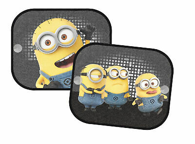 Despicable Me Minions Window Car Sun Shades UV Blinds Children Kids Baby