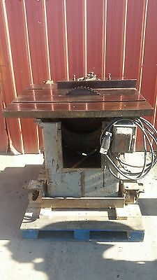 "Tannewitz Type U 16"" 5HP Table Saw Shaftless Woods 220/440 3PH 60Hz 3600 RPM"
