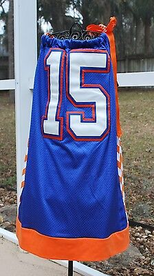 Uf University Of Florida Gators S Pillow Case Jersey Dress Size 8 Tebow