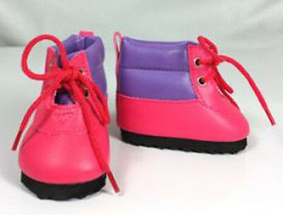 NIP-adorable hiking boots fit American Girl and Bitty Baby dolls
