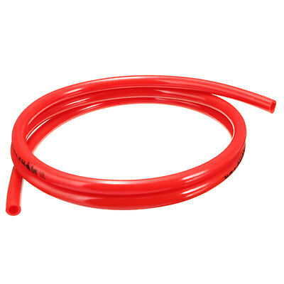 "Motorcycle Fuel Line Petrol Pipe 5mm 3/16"" I/D x 8mm 5/16"" O/D 1m Red Fuel Hose"