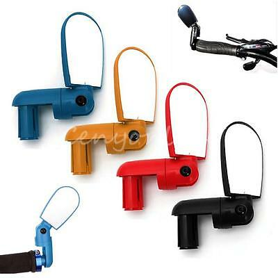 Adjustable Bicycle Bike Cycle MTB Cycling HandleBar Rearview Mirror Wide Angle
