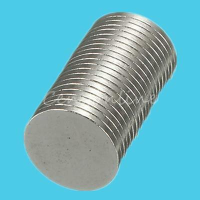 20x Strong Disc Round Magnets Magnet Rare Earth Neodymium 10*1mm N50 Grade