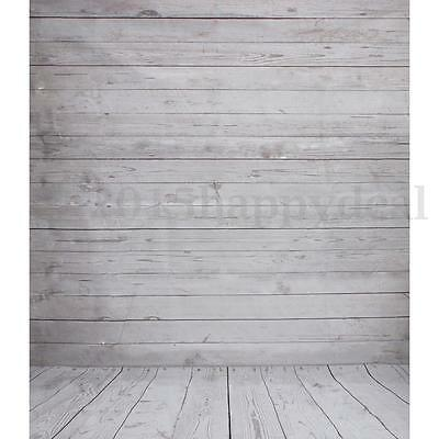 5x7ft Vintage Wooden Wall Floor Studio Props Photography Backdrops Background