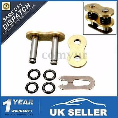 O Ring Connecting Master Chain Link Gold Split / Clip For 520H 520