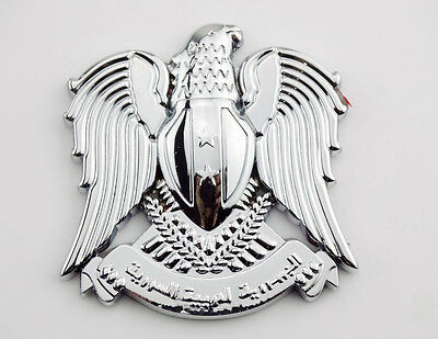 Chrome 3D Metal Eagle Fuel Gas Tank Badge Fairing Body Decal Sticker For Harley