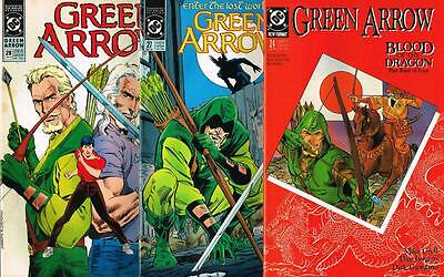 3 issues - Green Arrow - Issue # 24,27,28 **Mature Readers** 1989 - VF - (1479)