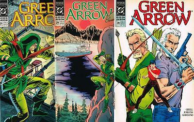 3 issues - Green Arrow - Issue # 28,29,31 **Mature Readers** 1990 - VF - (1481)