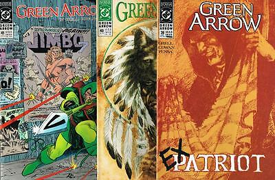 3 issues - Green Arrow - Issue # 39,40,41 **Mature Readers** 1990 - VF - (1484)