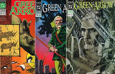 3 issues - Green Arrow - Issue # 44,45,47 **Mature Readers** 1991 - VF - (1487)