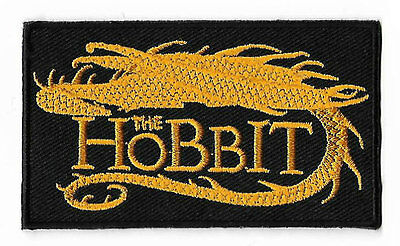 Hobbit Patch Iron / Sew on Badge Lord of the Rings Applique Costume Smaug Dragon