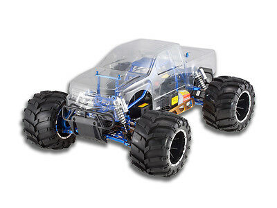 Rampage MT Pro 1/5 Scale Gas Powered Redcat Racing RC Monster Truck