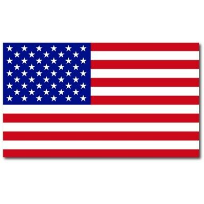 American Flag Car Magnet X-Large 7x12 inch size, Great for Truck SUV Boat or RV