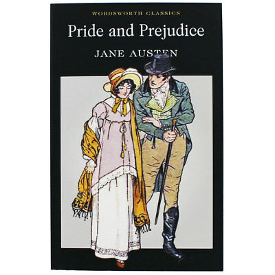 Pride And Prejudice - Wordsworth Classics by Jane Austin (Paperback), Books, New