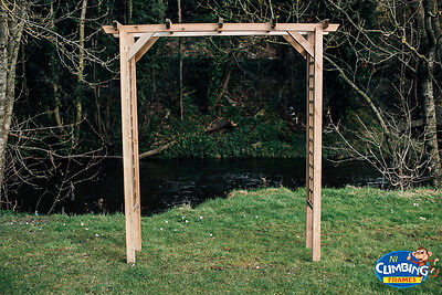 Wooden Straight Pergola, Outdoor, Garden, Heavy duty,chairs,Picnic table,Seating