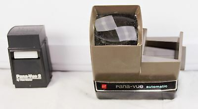 Lot of Pana-Vue Automatic By GAF Corp &  2 Lighted By View-Master Slide Viewer
